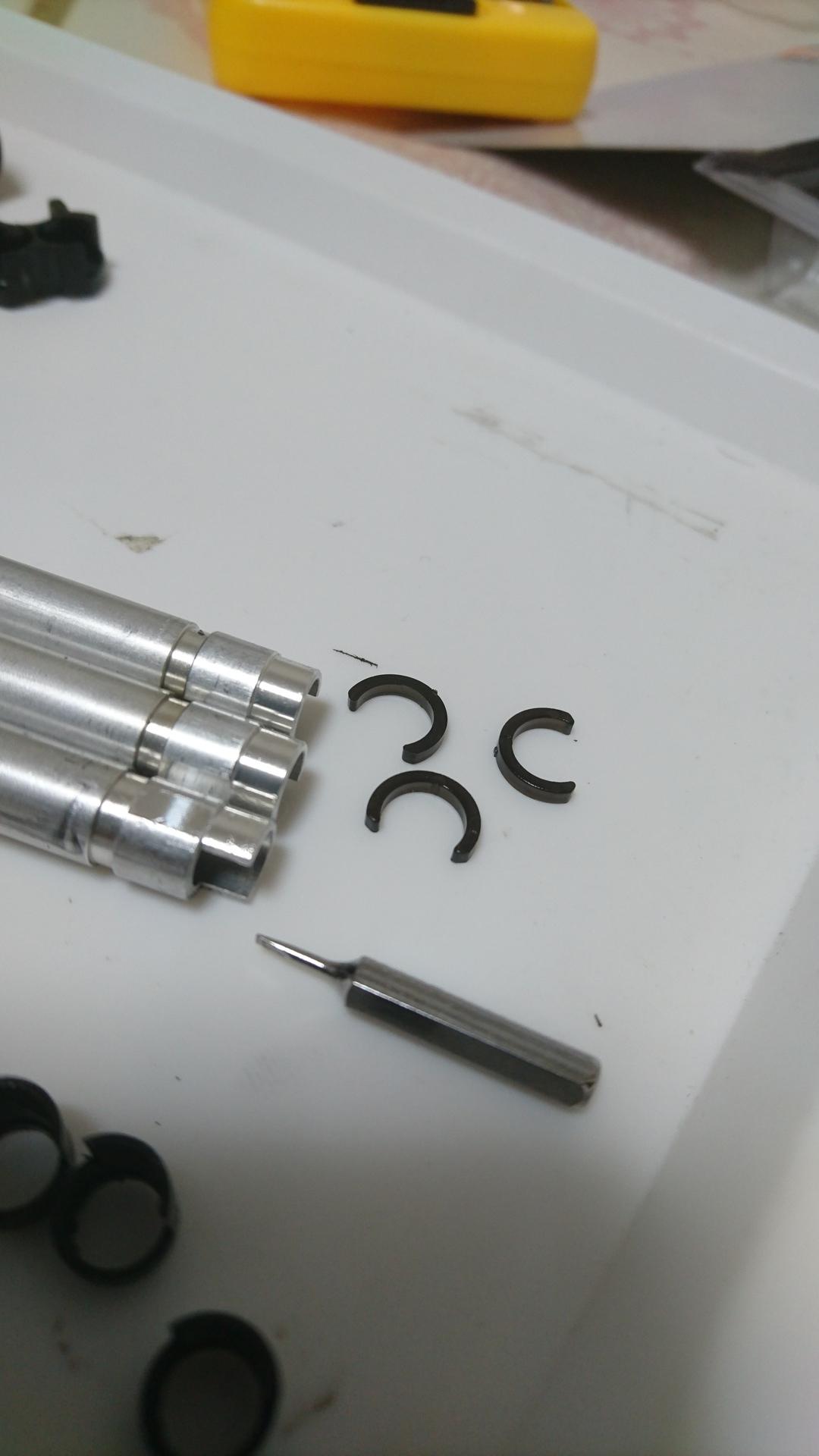 M3ショーティ インナーバレル交換 バレル固定リング
