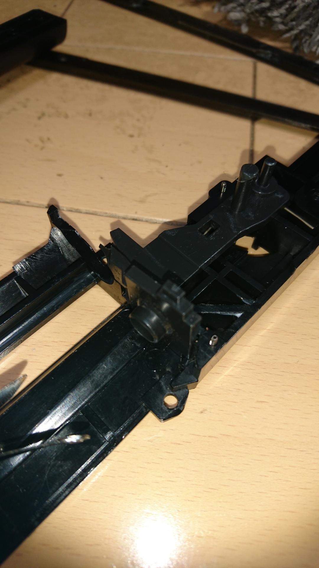M3ショーティ メカボックス分解 フレーム中央パーツ