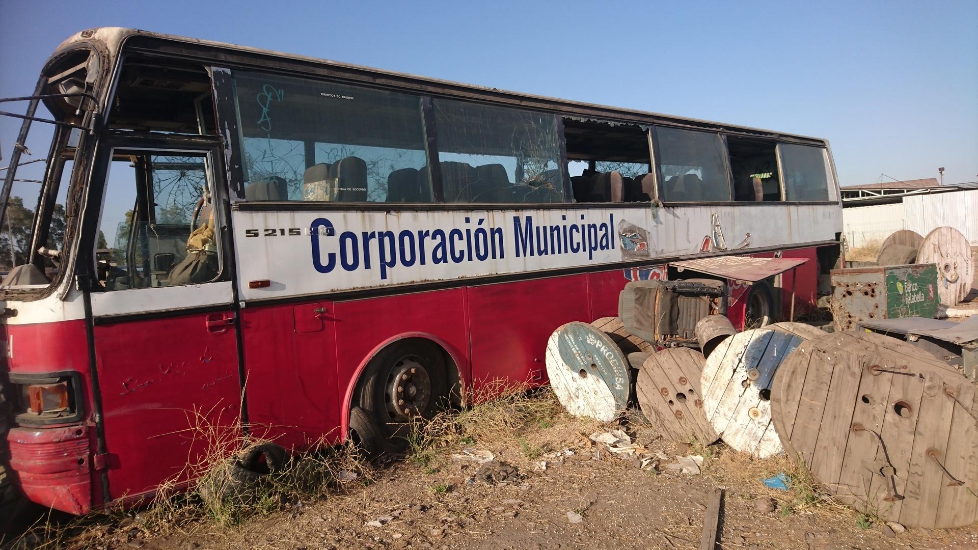 海外サバゲー チリ サンティアゴ AIRSOFT FUERTE BULNES バス